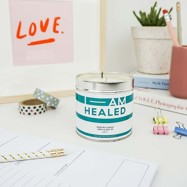 I-AM scented candle colourful stationary