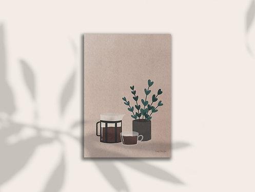 Coffee Morning Print Lugi Design