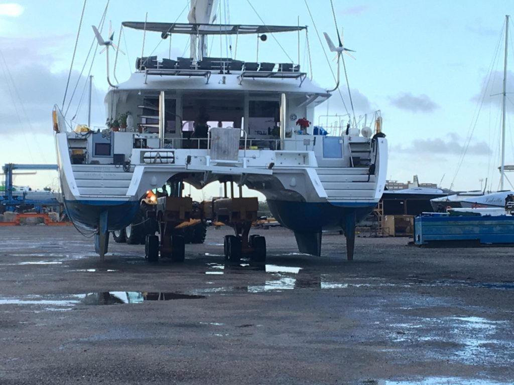 Aruba boat haul*out