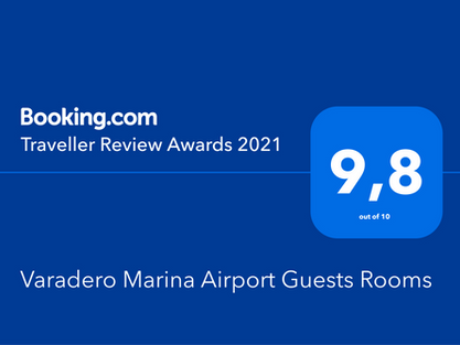 Varadero Aruba GuestHouse receives Booking.com Award