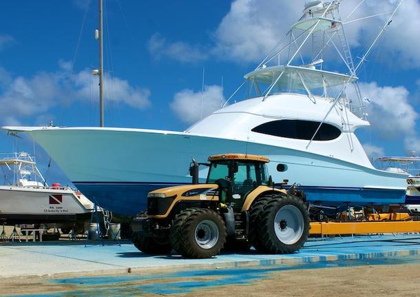 Aruba Alina Deep Sea Fishing Luxury Boat