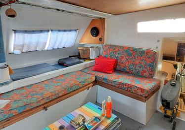 Starboard view salon