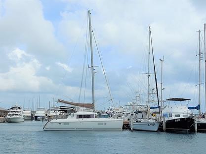 New catamaran spot