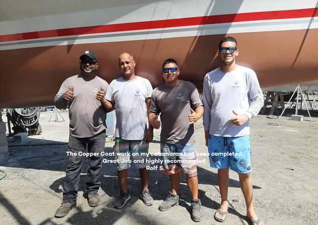 Aruba Boatyard Team
