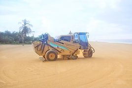 Aruba beach maintenance