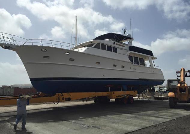 Aruba shipyard