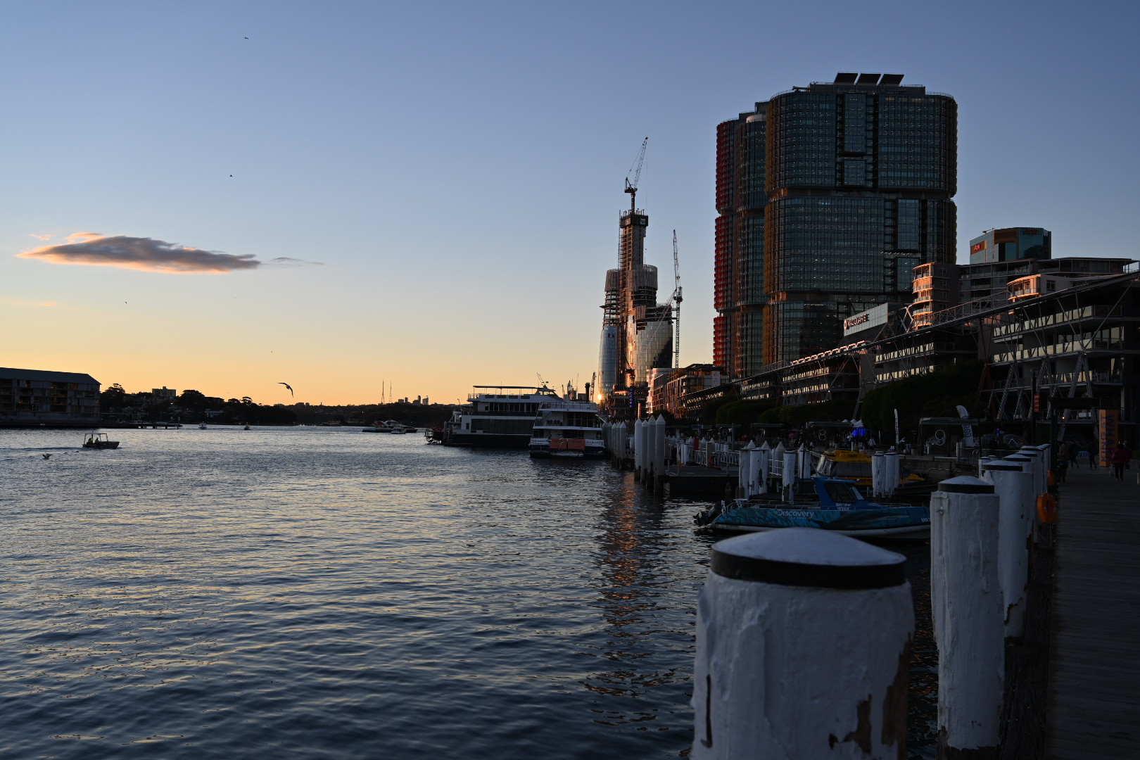 Darling Harbour in the afternoon