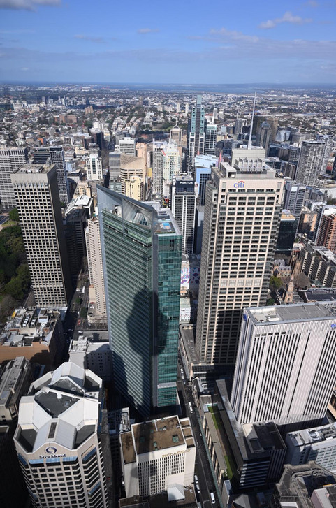 City centre of Sydney