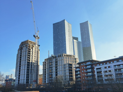 2021 Top 10 Developments in Manchester City Centre