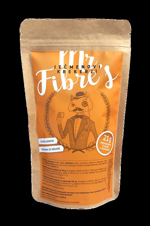 Mr. Fibre's ječmenovi krekerji   - SEZAM