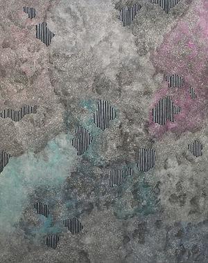 Internal Landscape Series 66, 116.8cm x 91cm, Acrylic on Canvas, 2017