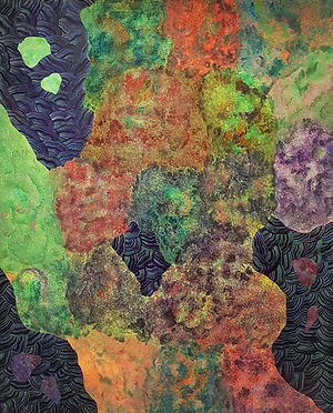 Internal Landscape Series 53, 162cm x 130cm, Acrylic on Canvas, 2017