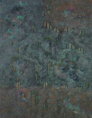 Internal Landscape Series 81, 116.8cm x
