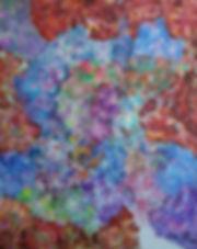 Internal Landscape Series 37, 152cm x 122cm, Acrylic on Canvas, 2016