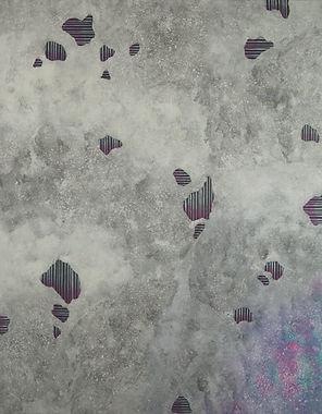 Internal Landscape Series 75, 116.8cm x 91cm, Acrylic on Canvas, 2018