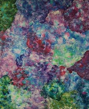 Internal Landscape Series 20, 152cm x 122cm, Acrylic on Canvas, 2015