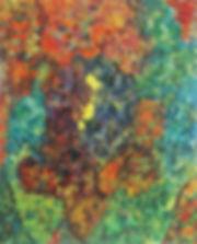 Internal Landscape Series 39, 152cm x 122cm, Acrylic on Canvas, 2016