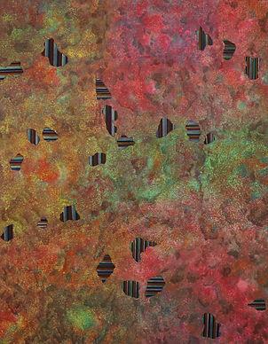 Internal Landscape Series 73, 116.8cm x 91cm, Acrylic on Canvas, 2018