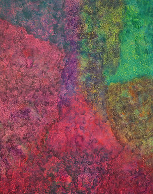 Internal Landscape Series 71, 116.8cm x 91cm, Acrylic on Canvas, 2018