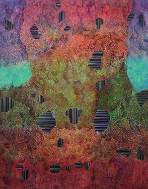 Internal Landscape Series 67, 116.8cm x 91cm, Acrylic on Canvas, 2018