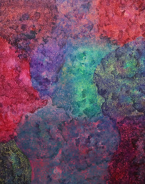 Internal Landscape Series 68, 116.8cm x 91cm, Acrylic on Canvas, 2018