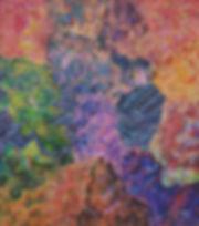 Internal Landscape Series 40, 112cm x 96cm, Acrylic on Canvas, 2016