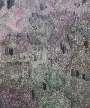 Internal Landscape Series 64, 73cm x 61cm, Acrylic on Canvas, 2017