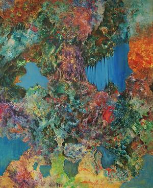 Internal Landscape Series 10, 152cm x 122cm, Acrylic on Canvas, 2015