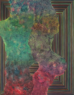 Internal Landscape Series 69, 116.8cm x 91cm, Acrylic on Canvas, 2018