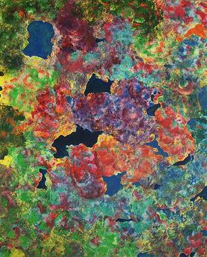 Internal Landscape Series 19, 152cm x 122cm, Acrylic on Canvas, 2015