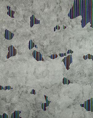 Internal Landscape Series 77, 116.8cm x 91cm, Acrylic on Canvas, 2018