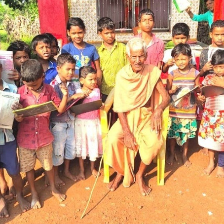 102-year-old Nanda Prusty's passion for teaching is evergreen | Rachana