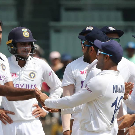 Ashwin check-mates the visitors with another fifer to regain supremacy | by om mishra