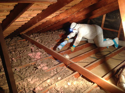 removal insulation