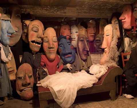 Bread and Puppet Theatre - Puppet Museum