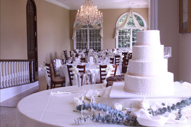 Wedding Cake and Reception