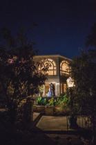 Vines Mansion Nighttime Wedding