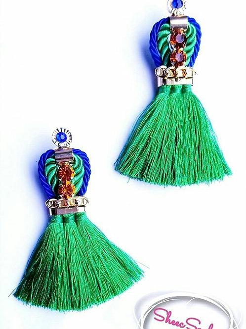 Emerald Chandelier