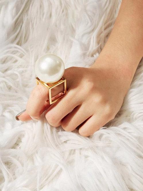"""""""SOLO"""" LUNA Pearl RIng"""