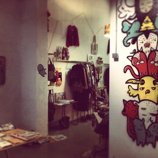 Paella showroom boutique