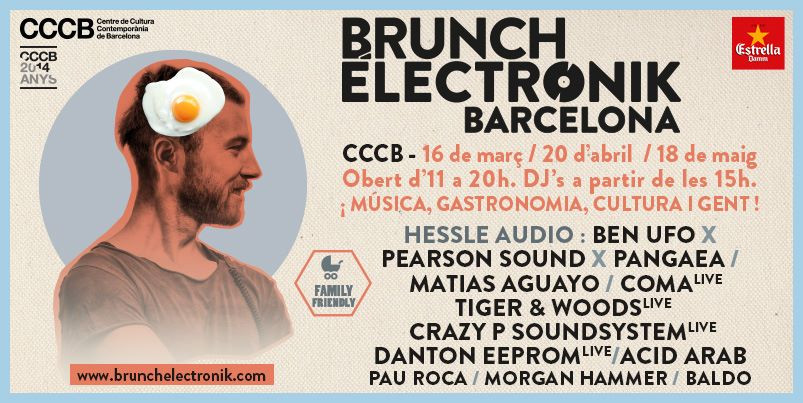 Cartel Brunch Electronik 2014