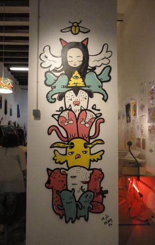 Totem Animal Mural