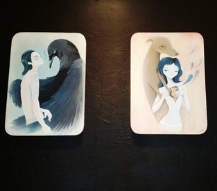 Some paintings