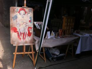 "my Artwork ""Flower of life"""