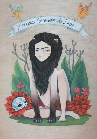"""Frida, lion's heart"""