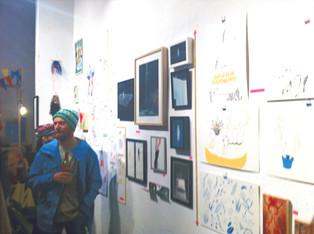 Art market in the walls