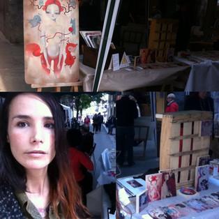 Flea Market in Verdi street