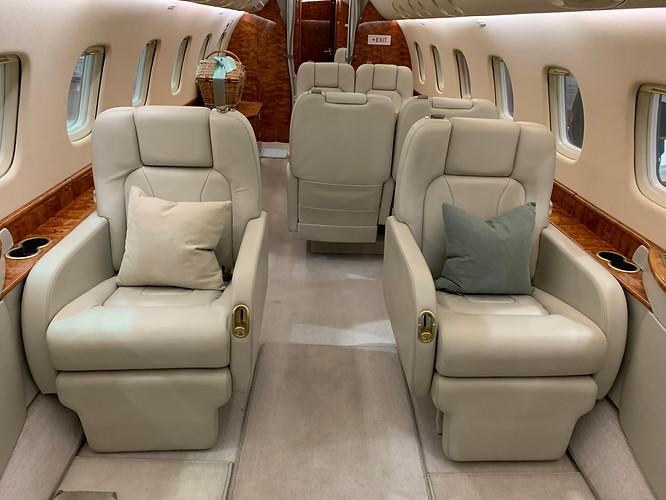 Embraer Legacy 600 Interior repair