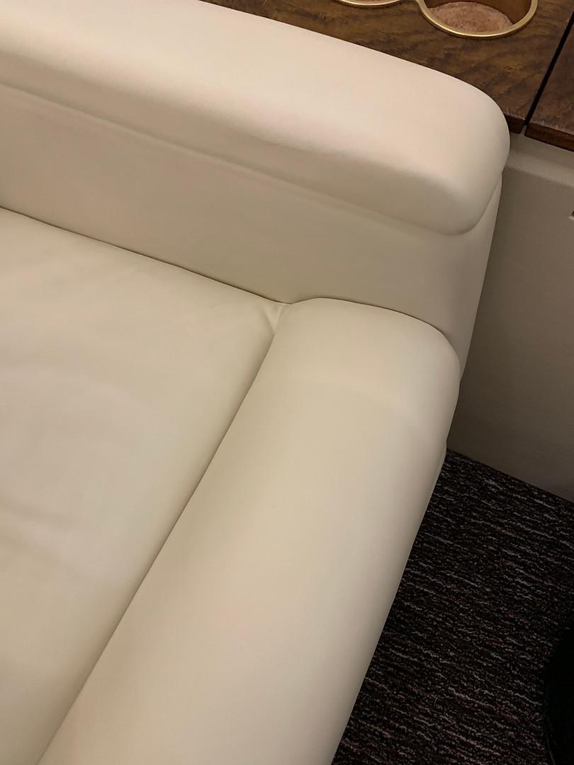 Aircraft leather seat repair Farnborough