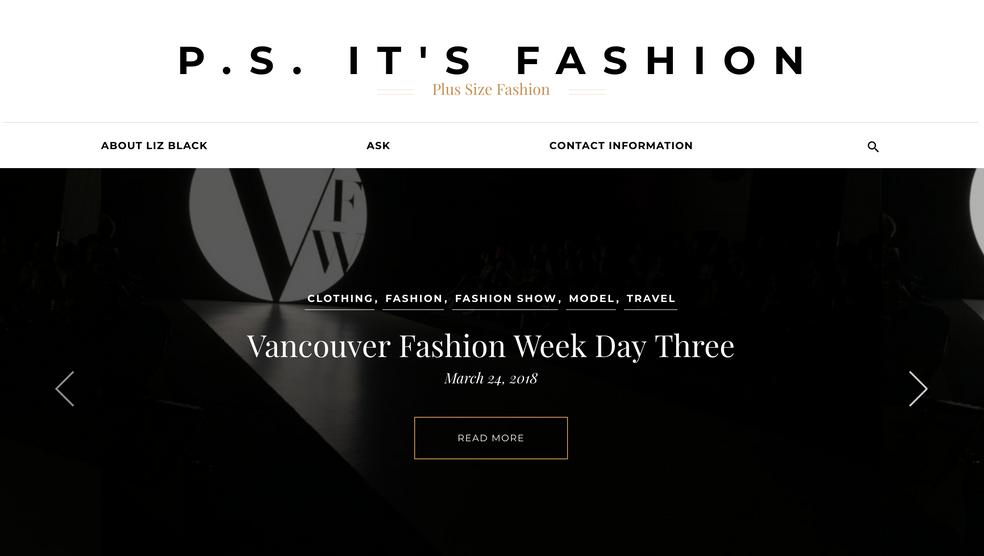 P.S. It's Fashion